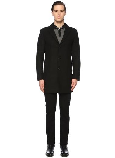 NetWork NetWork 1072016 Slim Fit Siyah Palto Erkek Palto Siyah